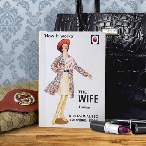 Personalised The Wife: A Ladybird Book